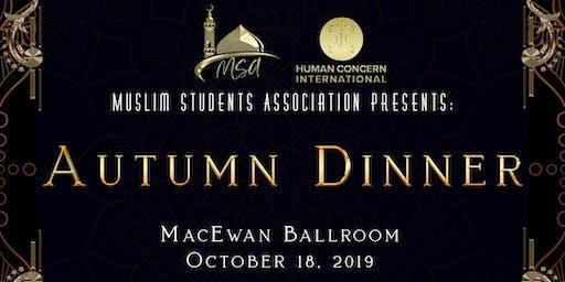 Autumn Dinner - Muslim Students' Association
