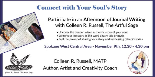 Connect with Your Soul's Story (a Journaling workshop)