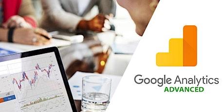Google Analytics Training - Advanced tickets