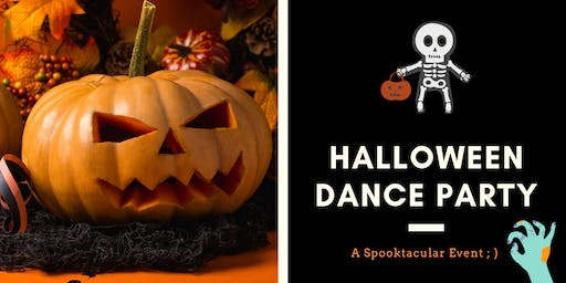 Halloween Dance Party + Costume Contest