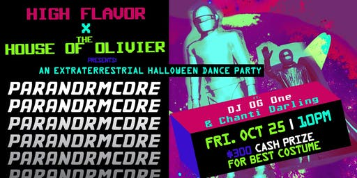 Paranormcore | An Extraterrestrial Halloween Dance Party