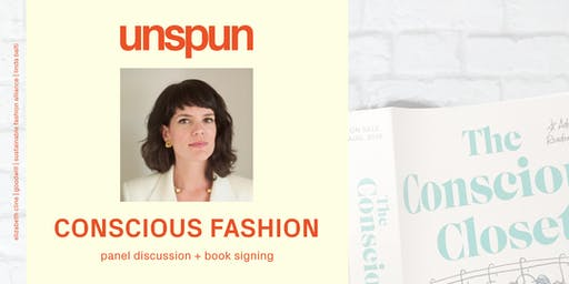 elizabeth cline x unspun x sfa: conscious fashion panel + book signing