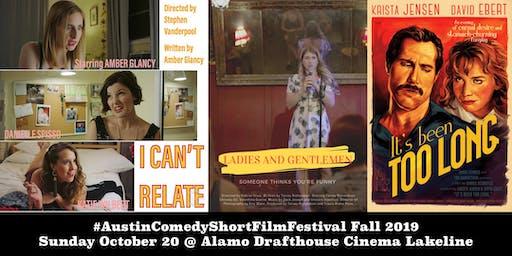 Austin Comedy Short Film Festival Fall 2019