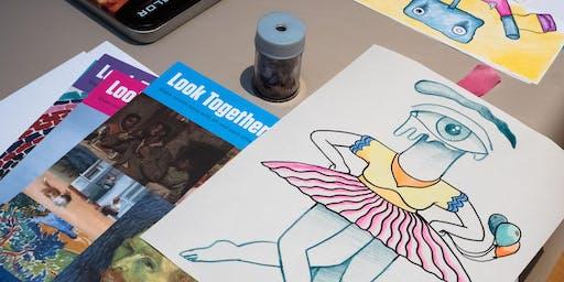 Sketching is Seeking | The Big Draw Festival