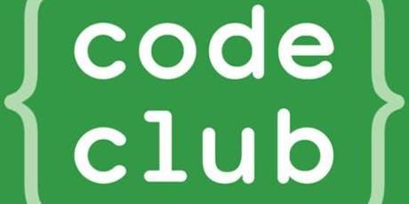 Code Club: 4 Weeks of Scratch tickets