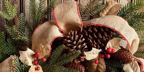 Winter Evergreen Wreath Decorating Workshop tickets