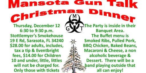 MGT Christmas Dinner