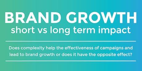 ThinkTank: Brand Growth, short vs long term impact tickets