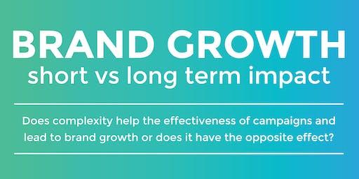 ThinkTank: Brand Growth, short vs long term impact