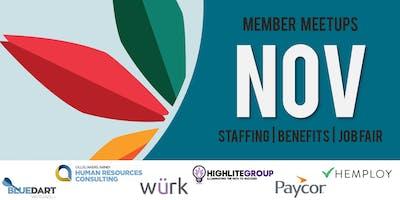 KC - Nov. Staffing | Benefits Meetup - Member Registration