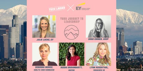Tech Ladies Los Angeles x EY: Your Journey to Leadership  tickets