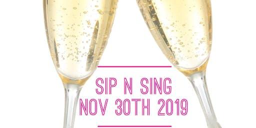 Sip N Sing End of Year Party!