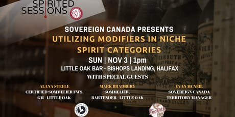 Spirited Sessions Halifax: Utilizing Modifiers in Niche Categories tickets