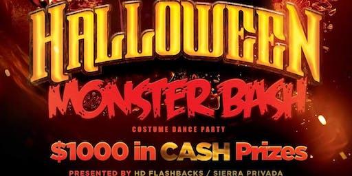 Halloween Monster Bash! Costume/Dance Party