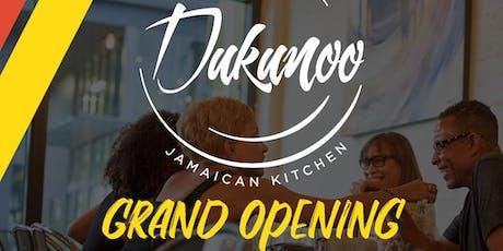 Dukunoo Grand Opening Launch Party tickets