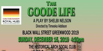 MEET US ON BLACK WALL STREET. GREENWOOD 2019