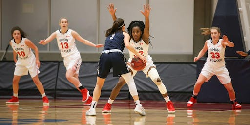 SFU WOMEN'S BASKETBALL vs. Hawaii Pacific University