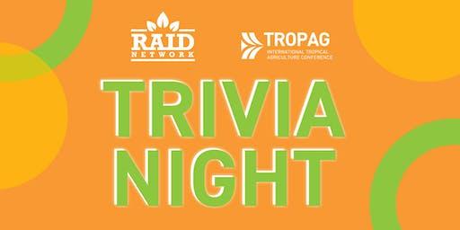 TropAg's Trivia Night