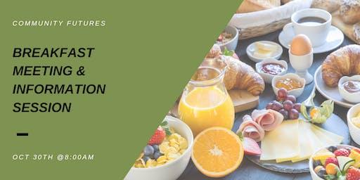 Community Futures Breakfast Meeting