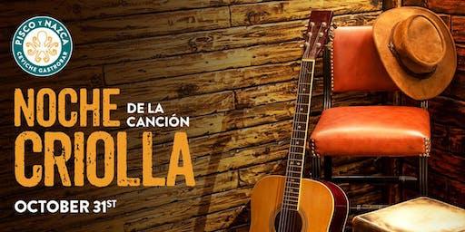 Noche de la Canción Criolla - Kendall
