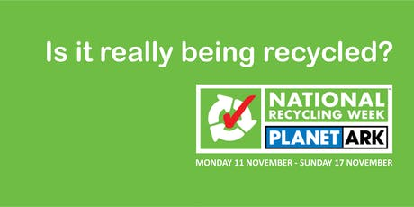 Is it really being recycled? tickets