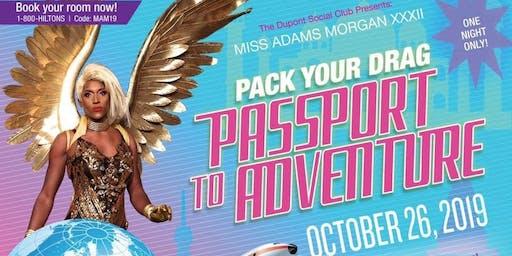 Miss Adams Morgan XXXII: Pack Your Bag, Passport to Adventure