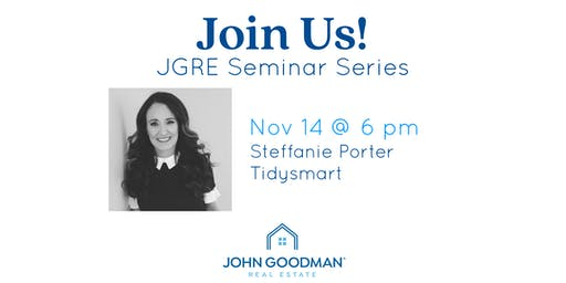 JGRE Seminar Series Part 1: Organize Me!