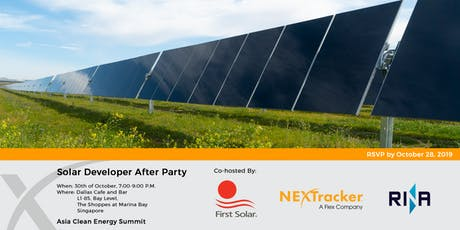 Solar Developer After Party tickets