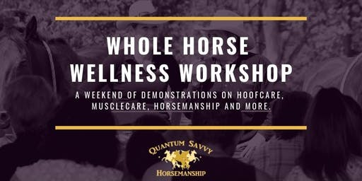 Whole Horse Wellness Workshop QSE 2020