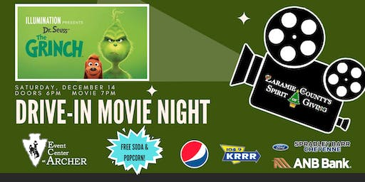 Laramie County's Spirit of Giving - Indoor Drive-in Movie (Parking Spaces)