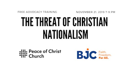 Dig Deep: The Threat of Christian Nationalism
