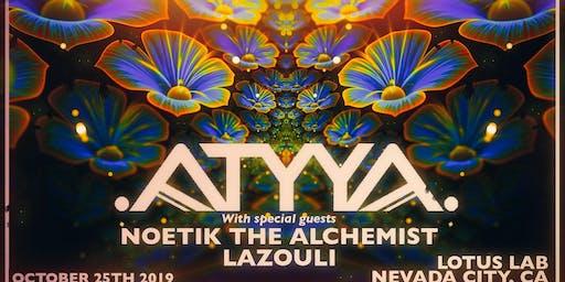 ATYYA, Noetik & Lazouli at The Lotus Lab