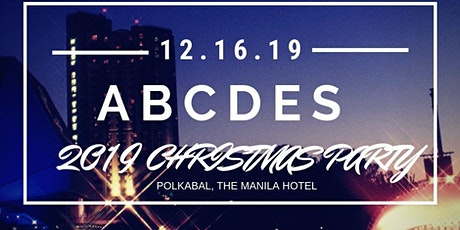 ABCDES CHRISTMAS PARTY tickets