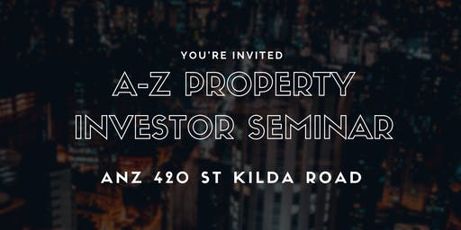 ANZ Property Investment Seminar