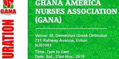 GHANA AMERICA NURSES ASSOCIATION (GANA) INAUGURATION