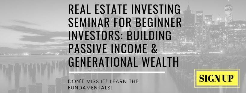 Real Estate Investing Seminar For Beginner Investors: Building Wealth