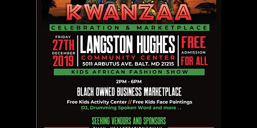 Kwanzaa Celebration & Marketplace