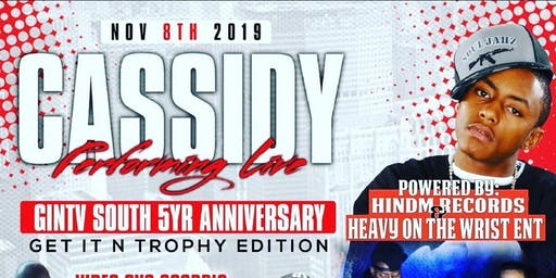 Cassidy live in concert W/ special guest performance by Mari Love