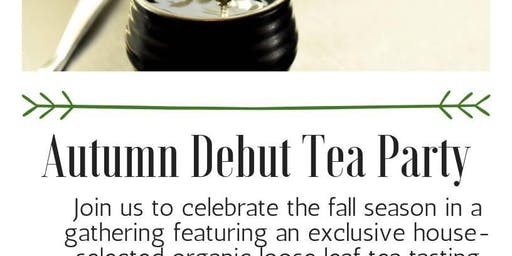 Autumn Debut Tea Party