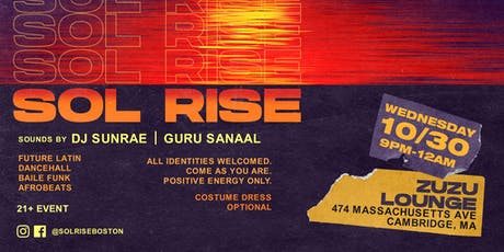 Sol Rise - A party celebrating music of the African Diaspora tickets