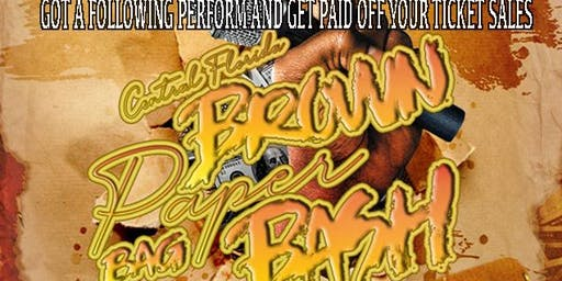 BROWN PAPER BAG BASH /SPECIAL GUEST PERFORMANCE BY : BOSTON