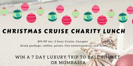 Charity Christmas Cruise tickets