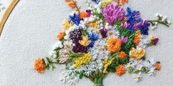 Embroidery Lessons  -  Mums Teaching Mums