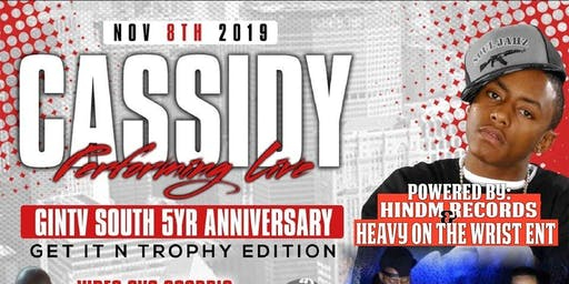 Cassidy live in concert W/ special guest performance by BINK MILLER