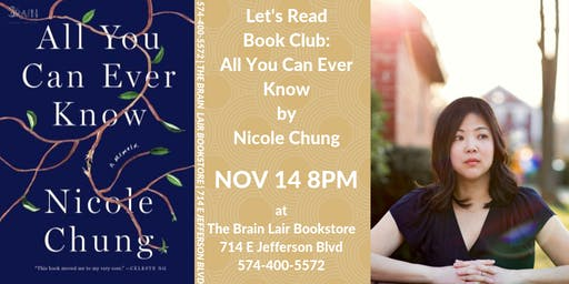 Let's Read Book Club - All You Can Ever Know by Nicole Chung