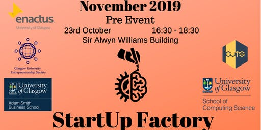 Startup Factory Pre-Event