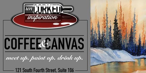 Coffee & Canvas   Snow Forest