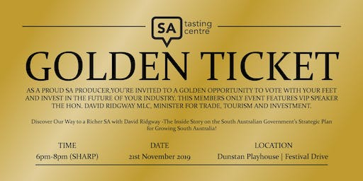 The SA Tasting Centre Members Only Event