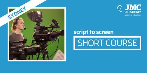 Script to Screen Short Course (JMC Sydney)