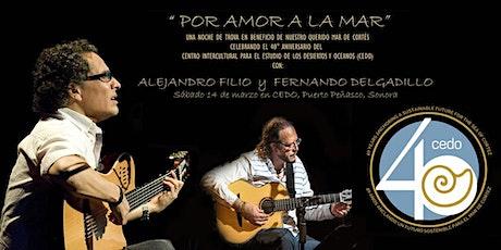 Por Amor a la Mar | For the Love of the Sea entradas